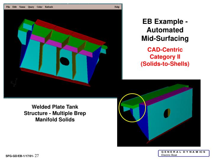 EB Example -Automated Mid-Surfacing