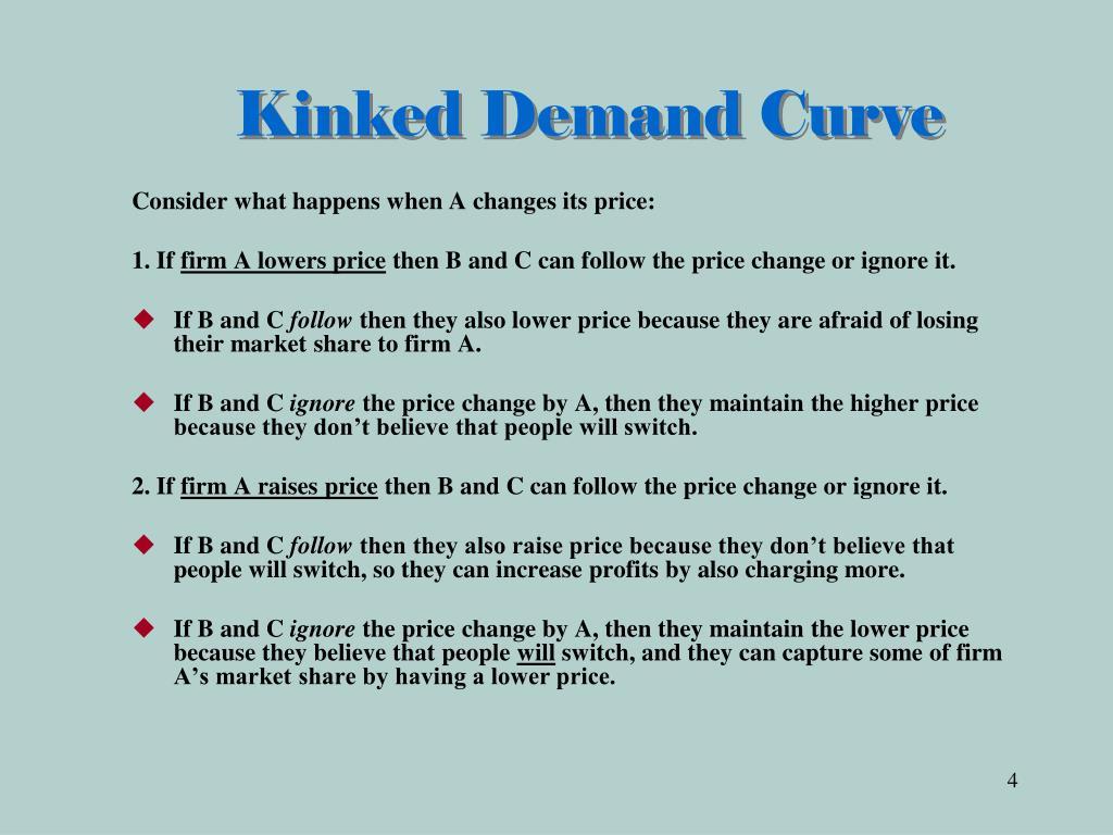 Kinked Demand Curve