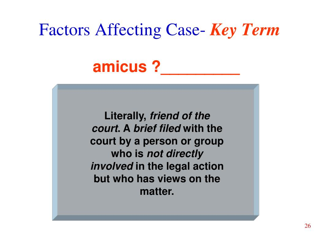 Factors Affecting Case-