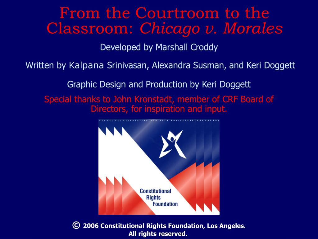 From the Courtroom to the Classroom: