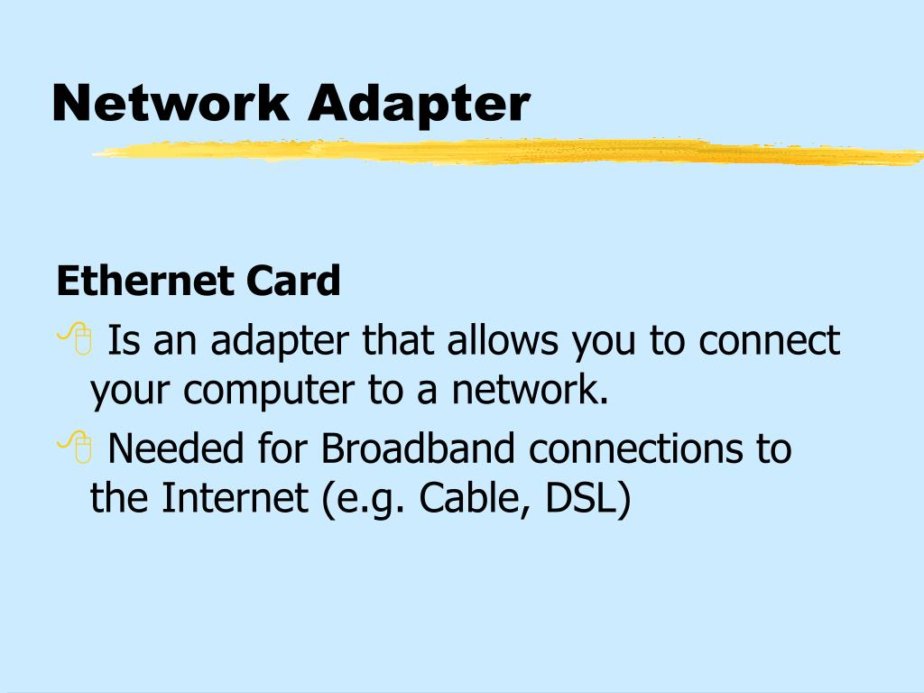 Network Adapter
