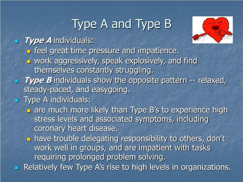 Type A and Type B