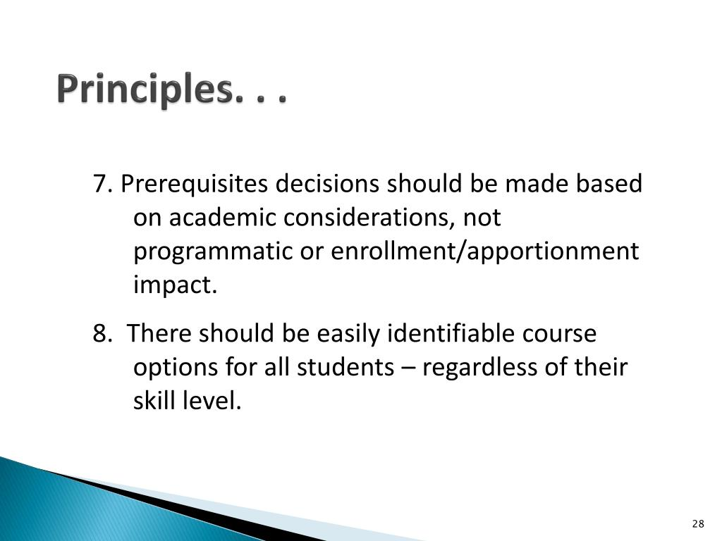 Principles. . .