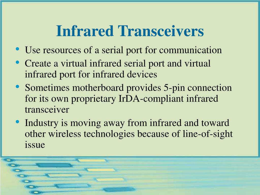 Infrared Transceivers