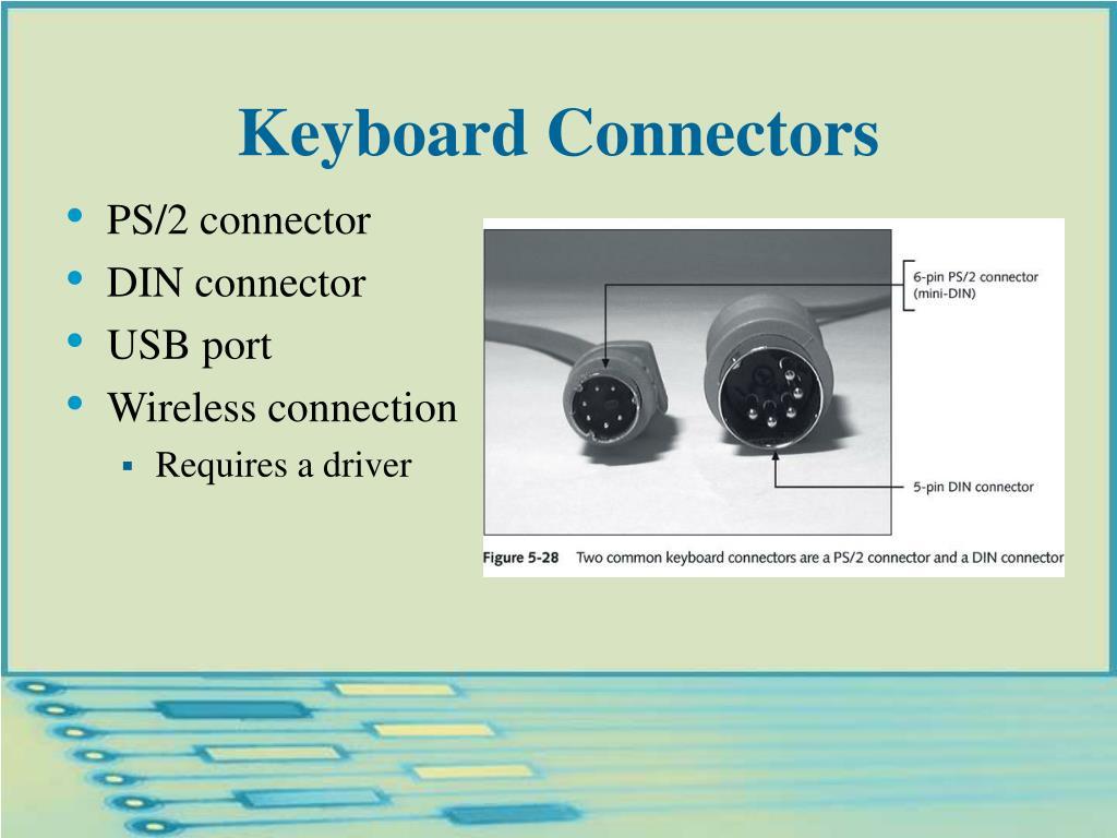 Keyboard Connectors