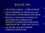 balch 1996