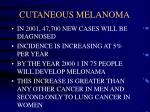 cutaneous melanoma