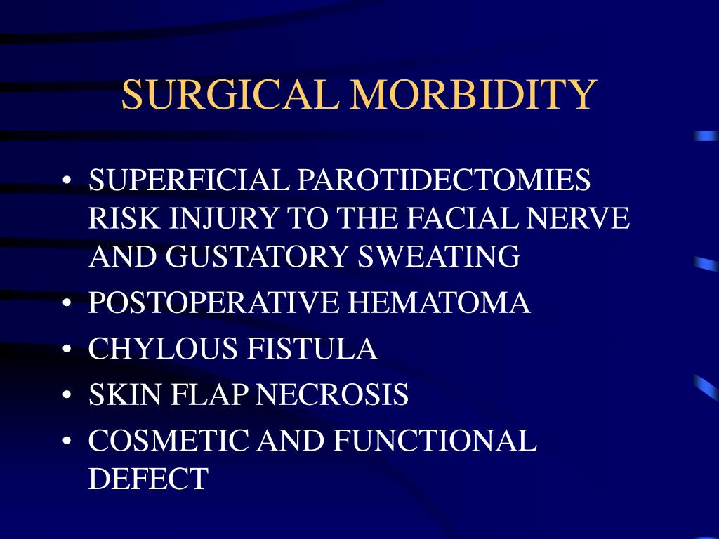 SURGICAL MORBIDITY