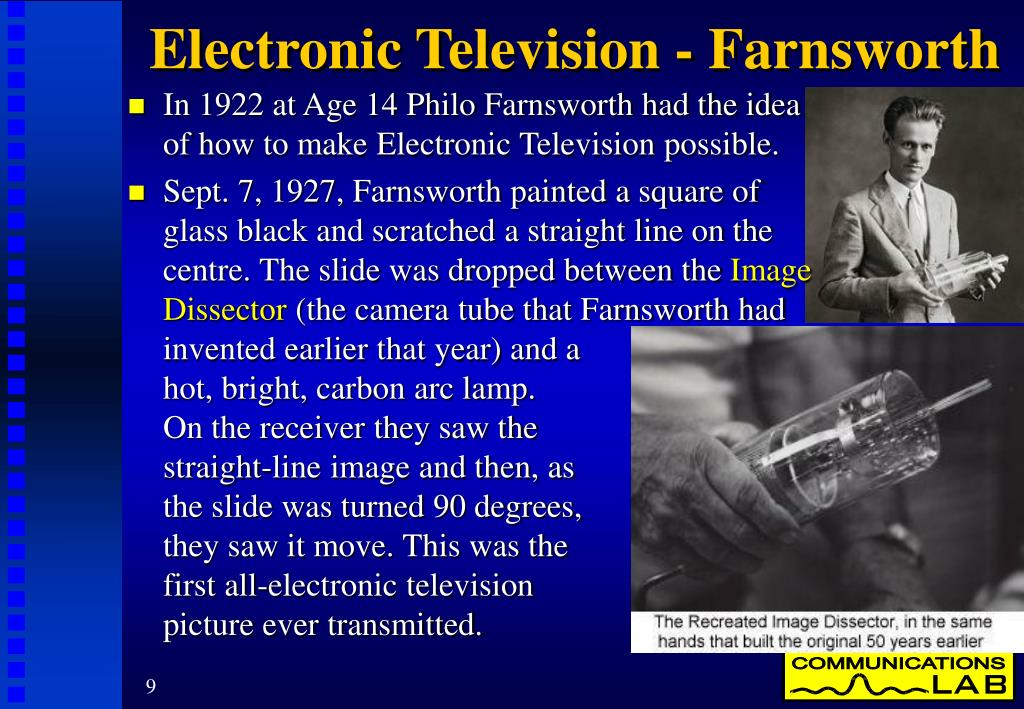 Electronic Television - Farnsworth