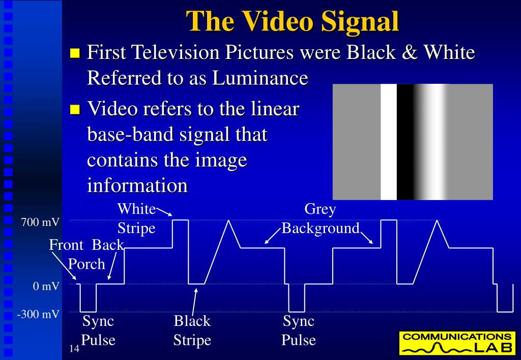 The Video Signal