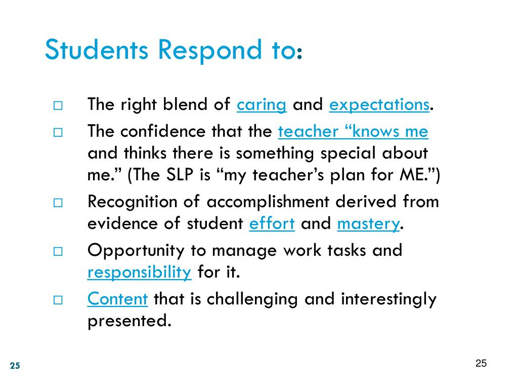 Students Respond to