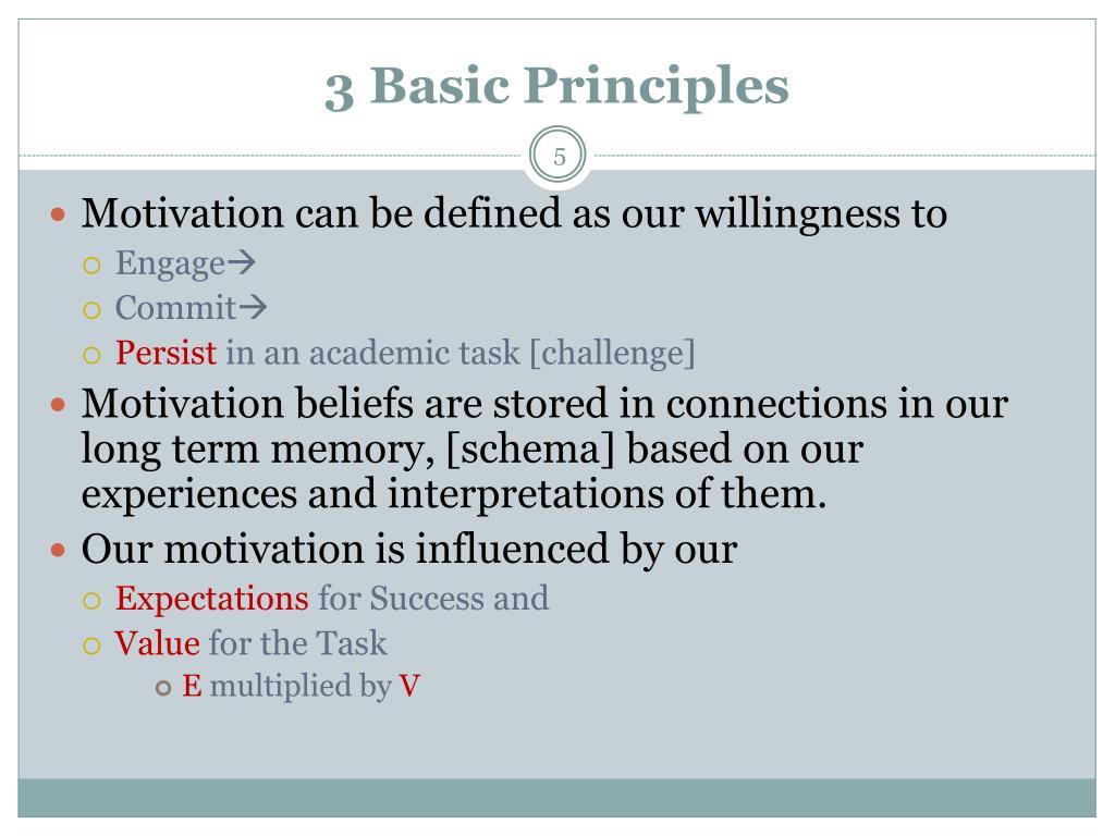 3 Basic Principles