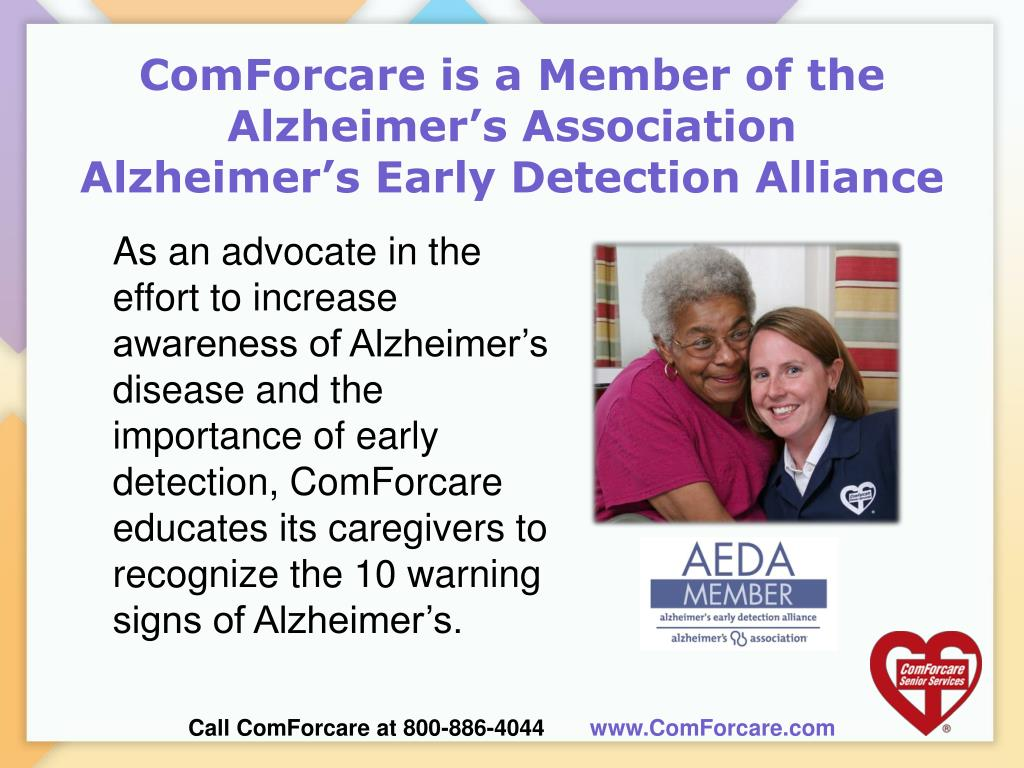 ComForcare is a Member of the