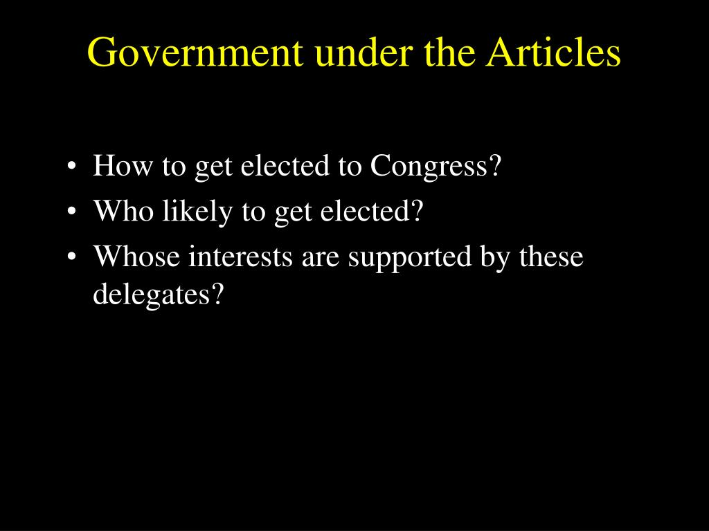 the government under the articles of Creating the constitution of a tyrannical central government this article included mechanisms for association is licensed under a creative commons.