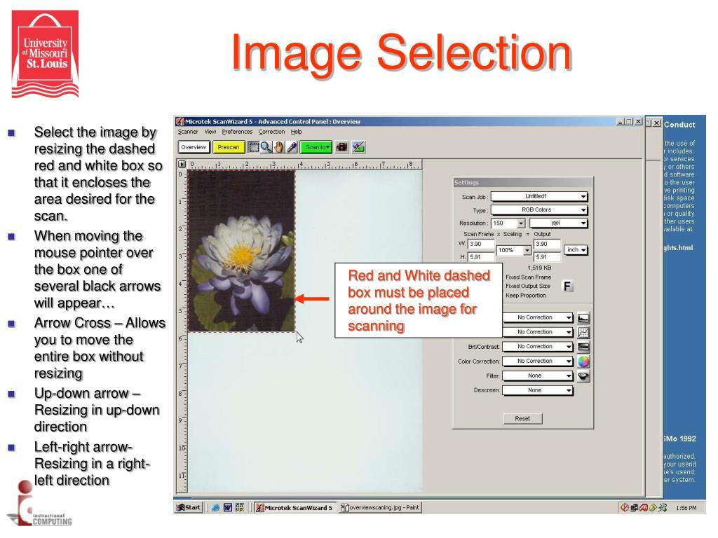 Image Selection