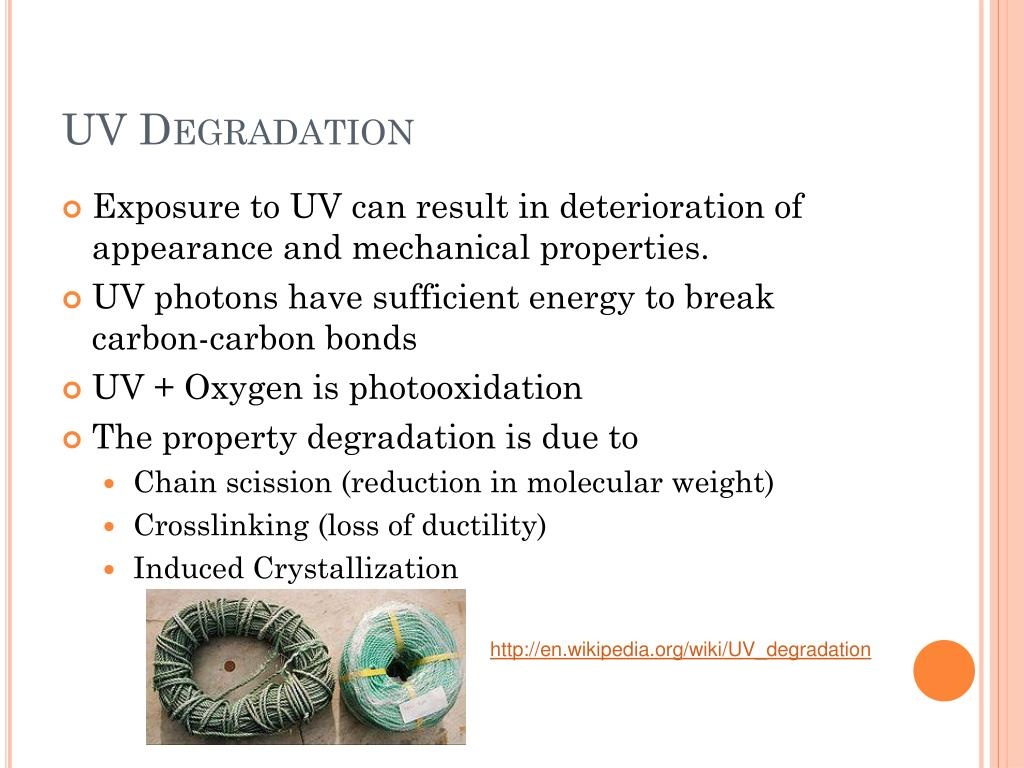 UV Degradation