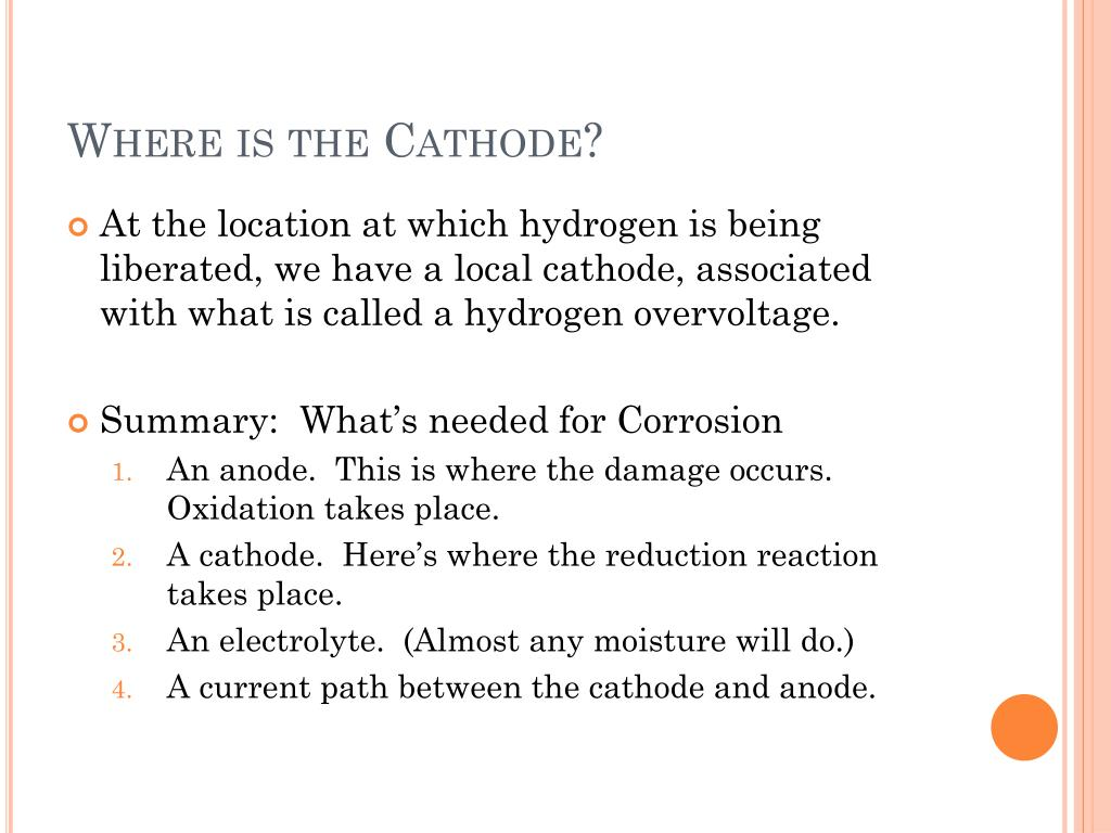 Where is the Cathode?