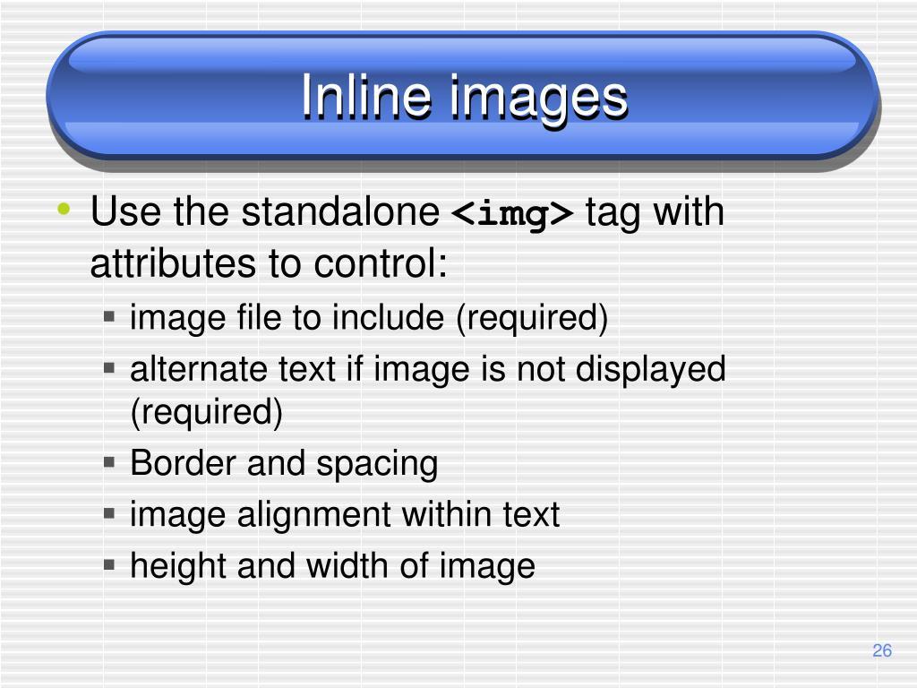 Inline images