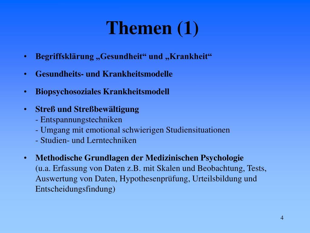 Themen (1)