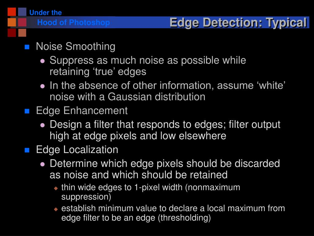 Edge Detection: Typical