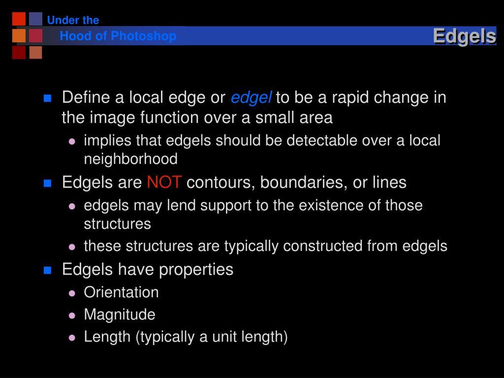 Edgels