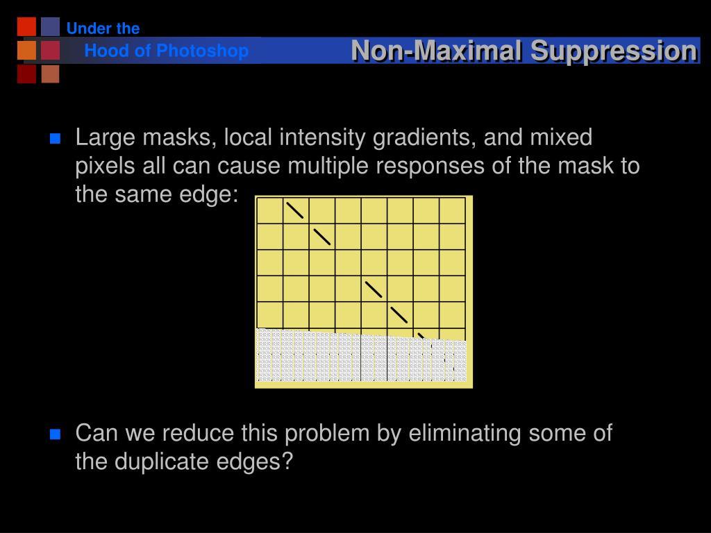 Non-Maximal Suppression