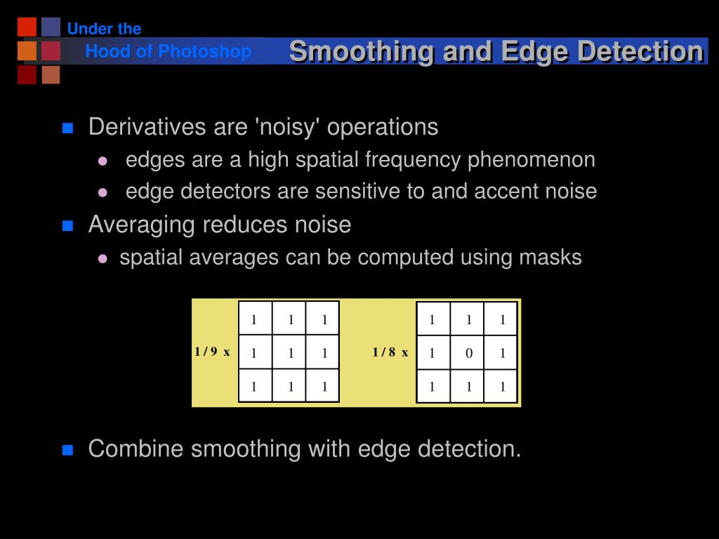 Smoothing and Edge Detection