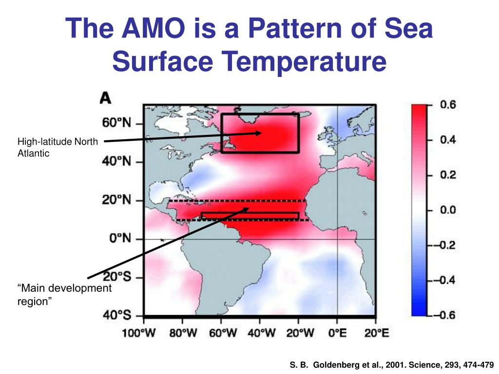 The AMO is a Pattern of Sea