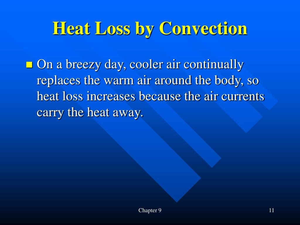 Heat Loss by Convection