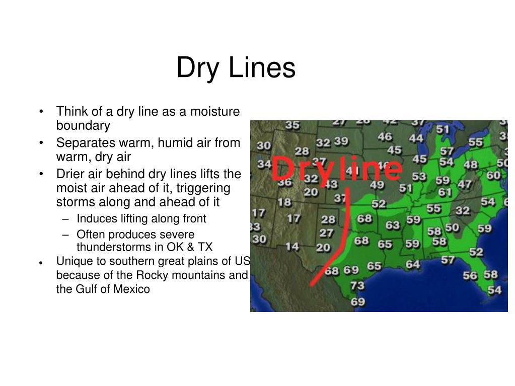 Dry Lines