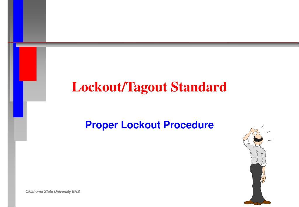 Lockout/Tagout Standard