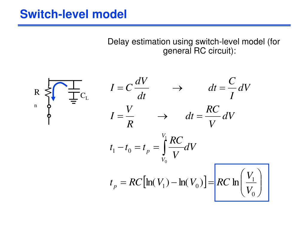 Switch-level model