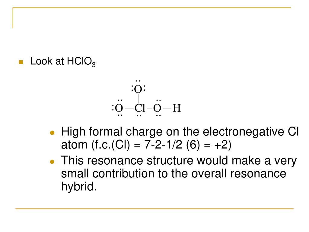 Look at HClO