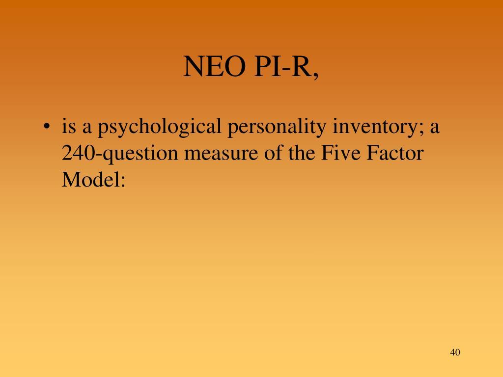 NEO PI-R,