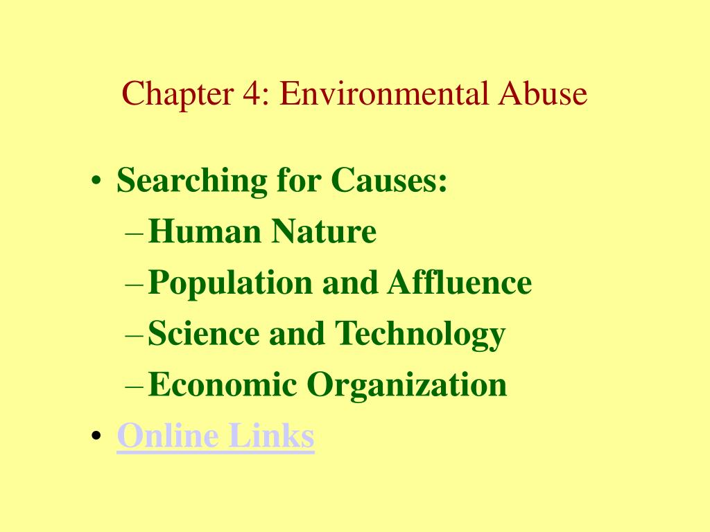 Searching for Causes:
