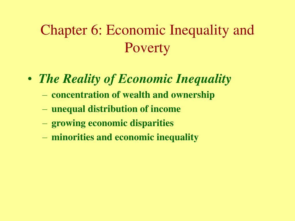 The Reality of Economic Inequality