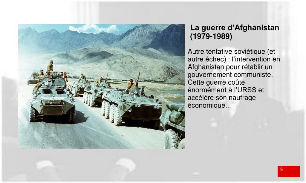 La guerre d'Afghanistan (1979-1989)