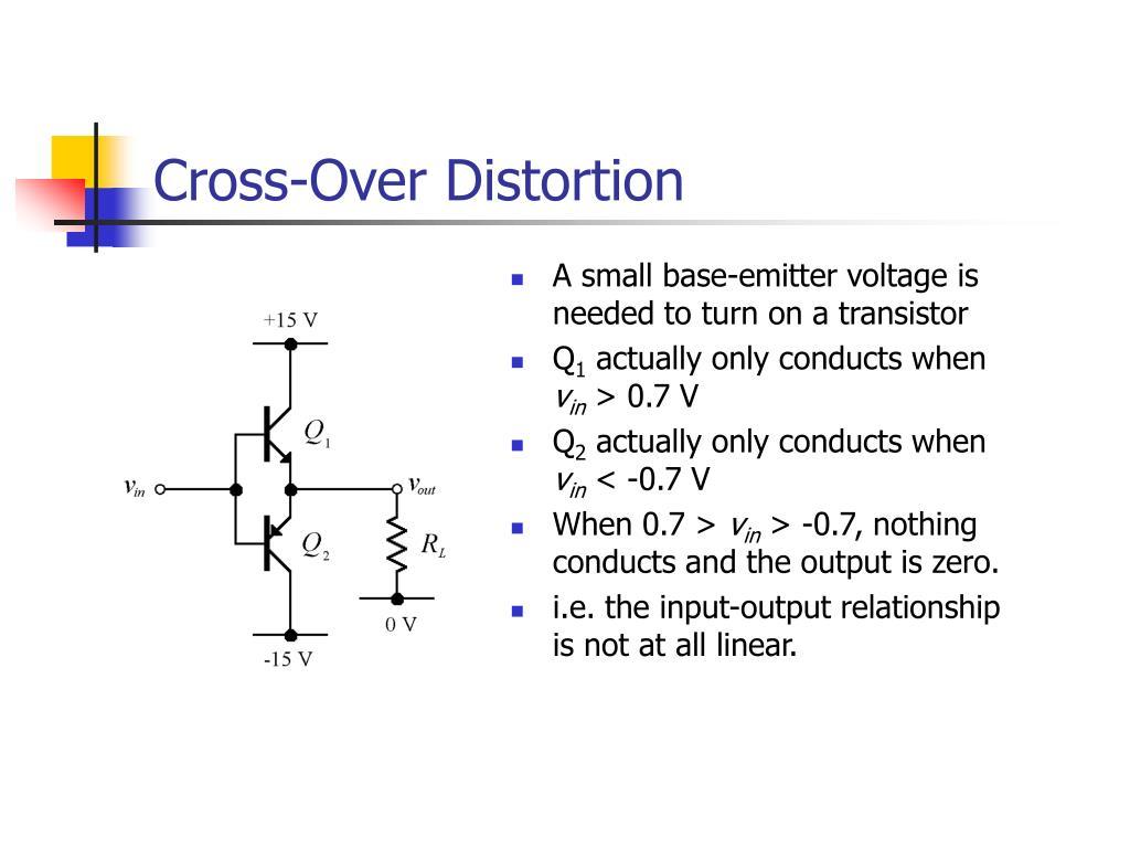 Cross-Over Distortion