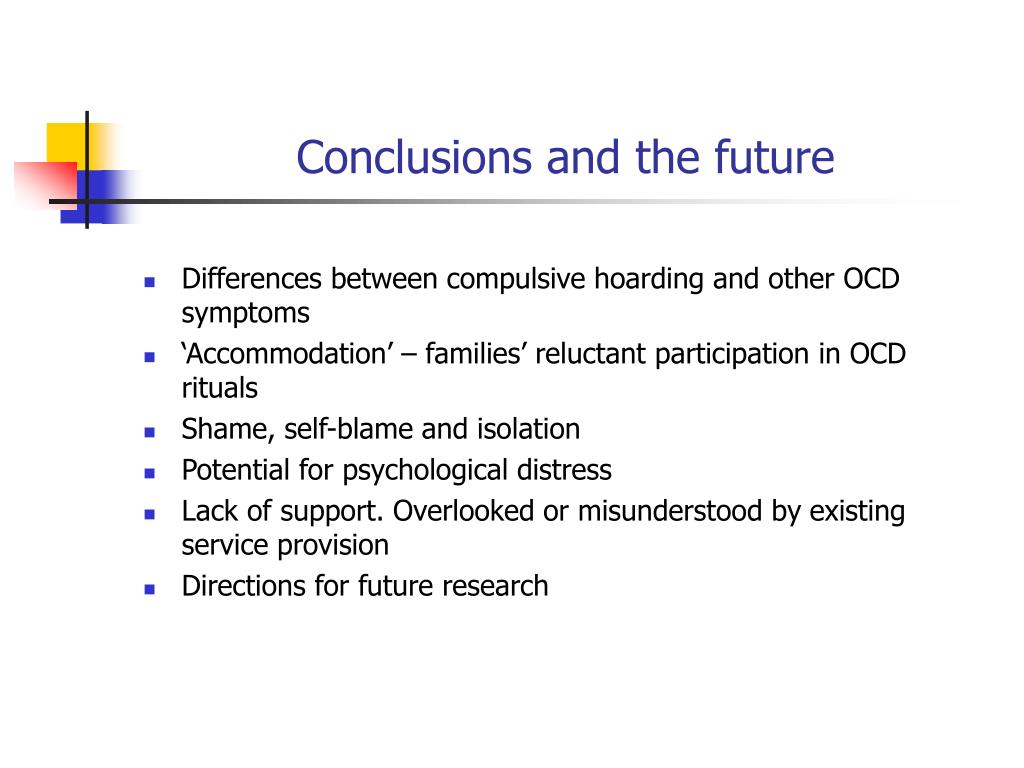 Conclusions and the future