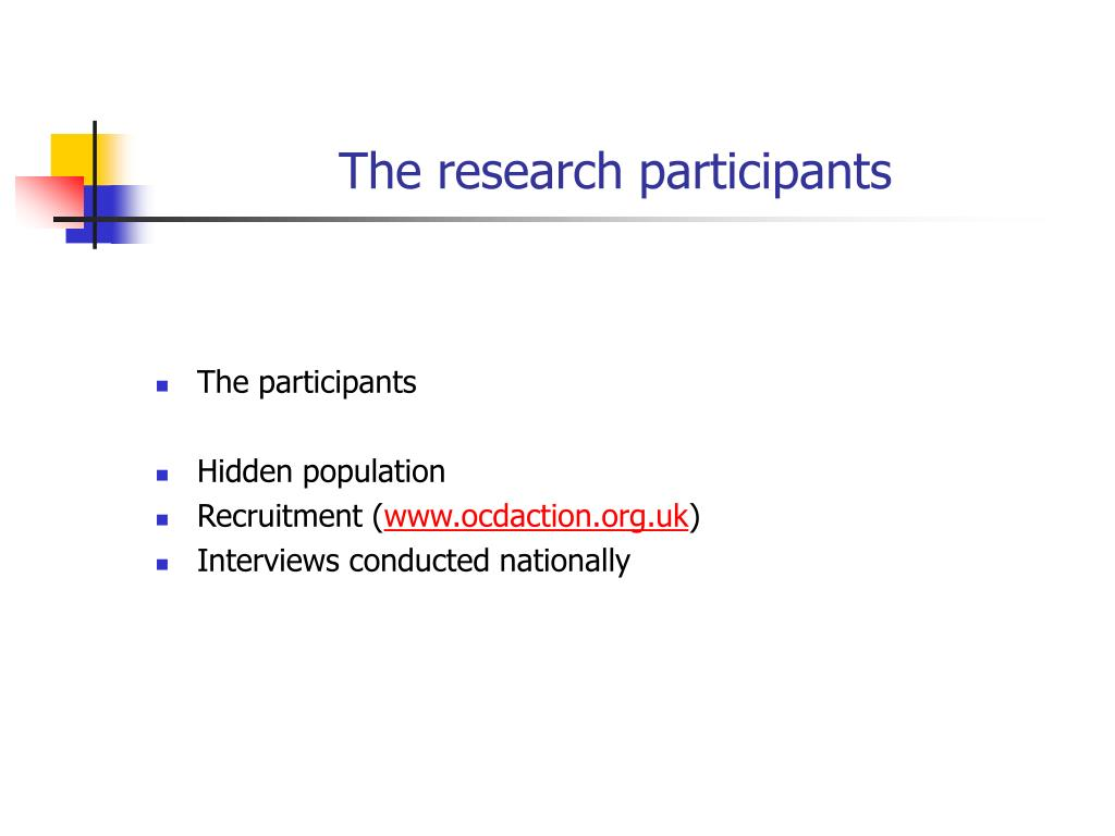 The research participants