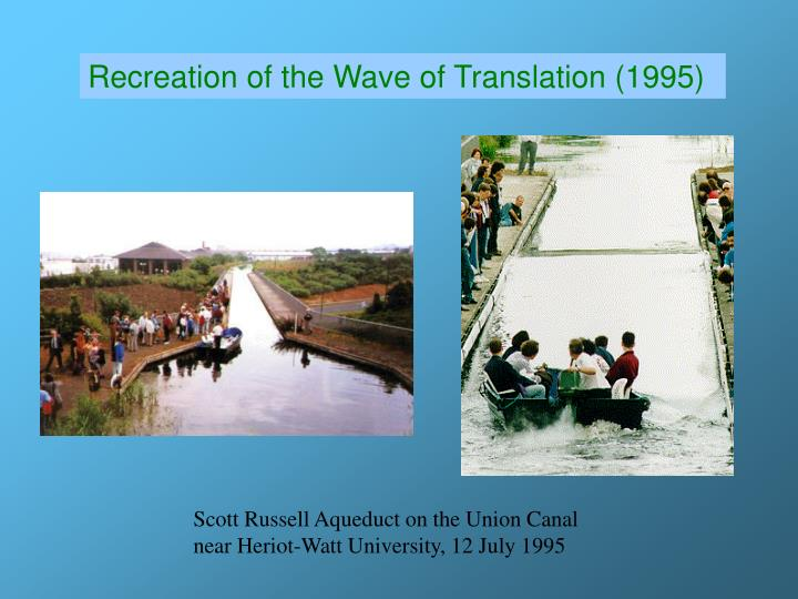 Recreation of the Wave of Translation (1995)