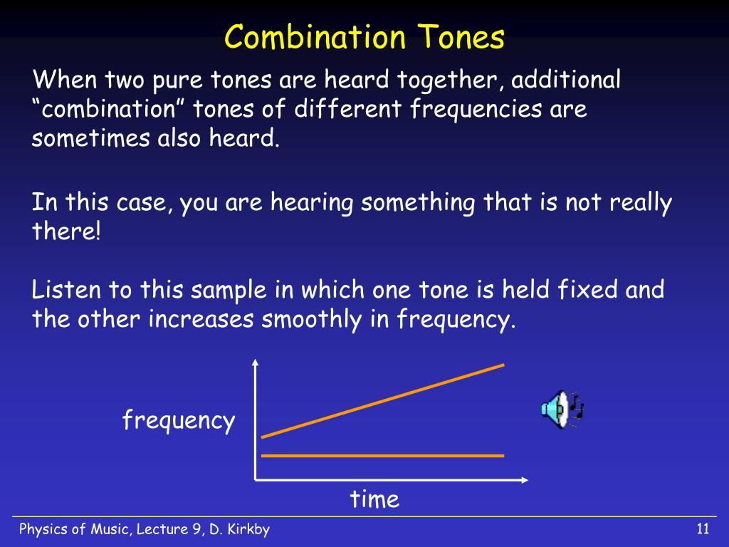 Combination Tones