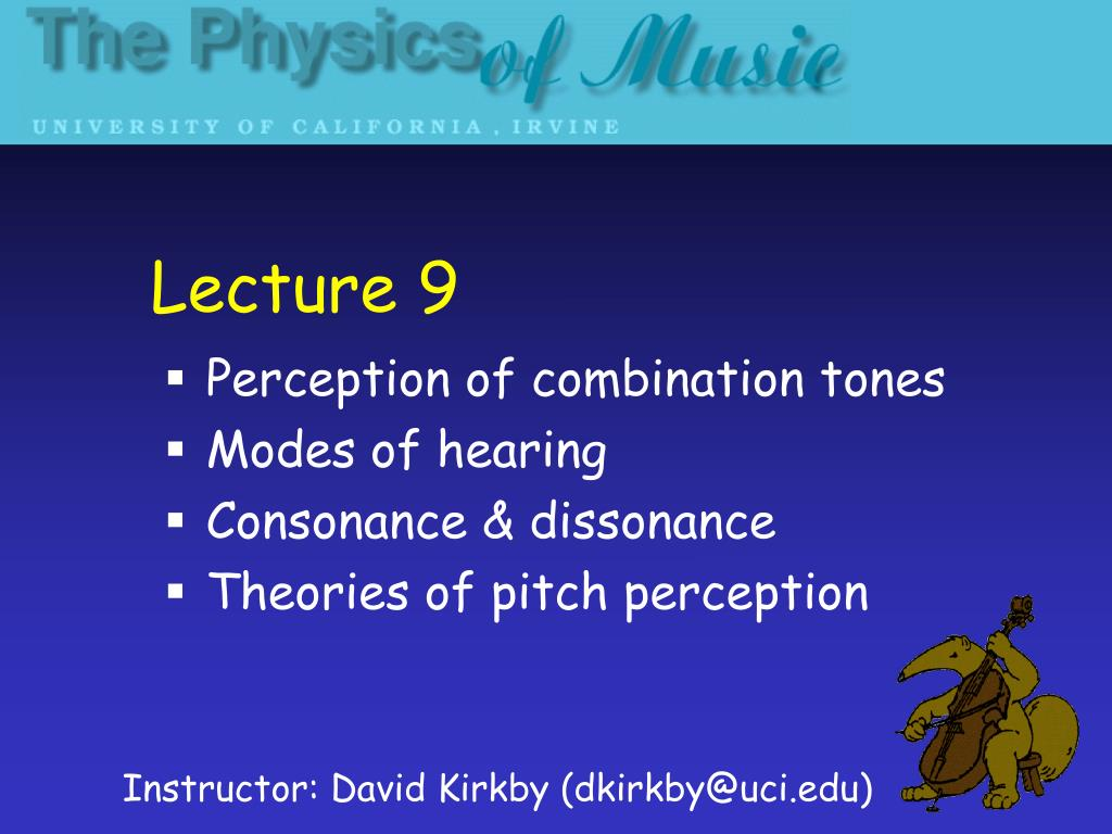 Lecture 9