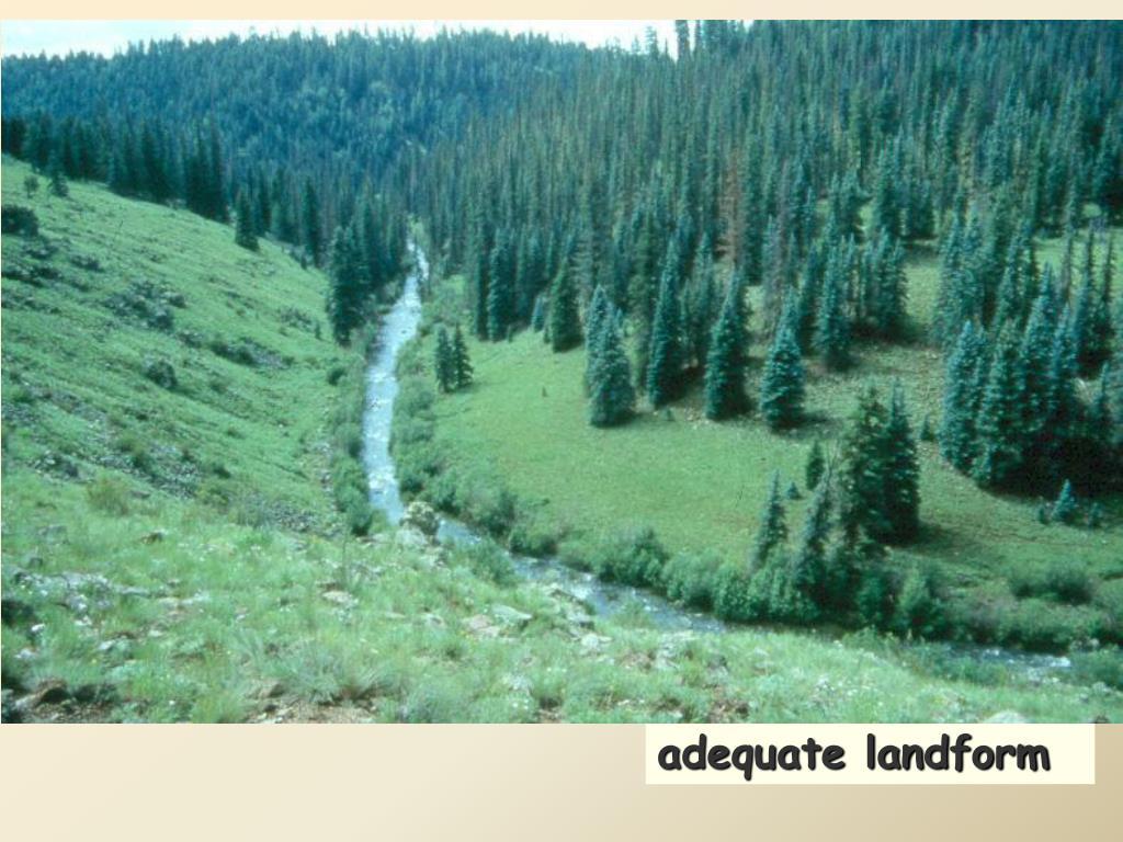 adequate landform