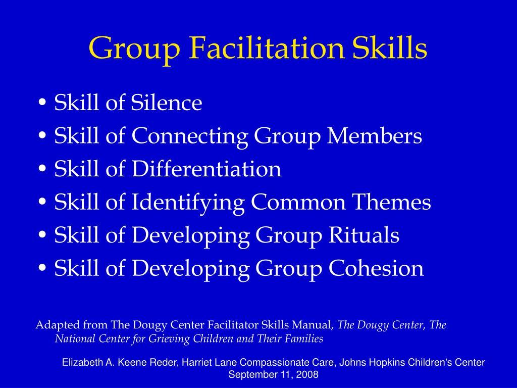Group Facilitation Skills