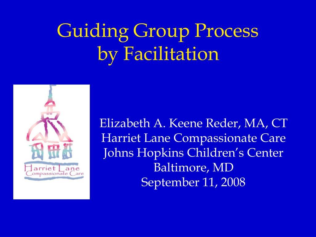 Guiding Group Process