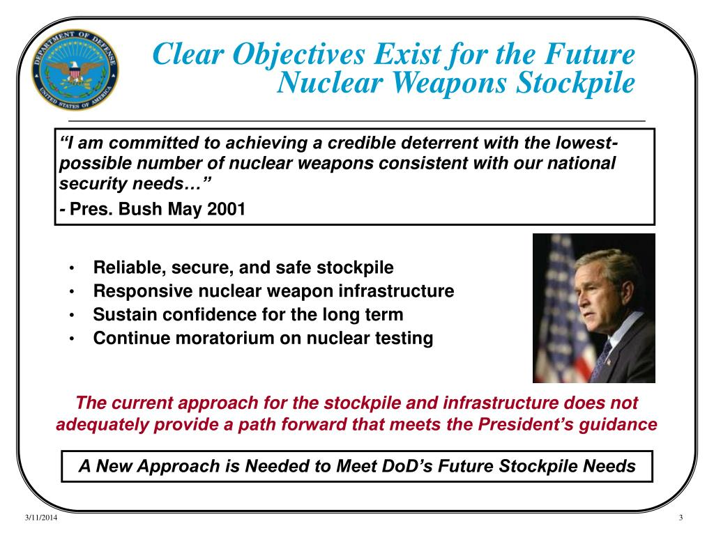 Clear Objectives Exist for the Future