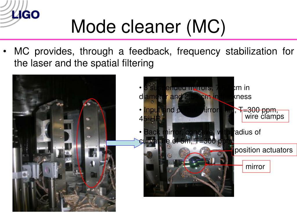 Mode cleaner (MC)