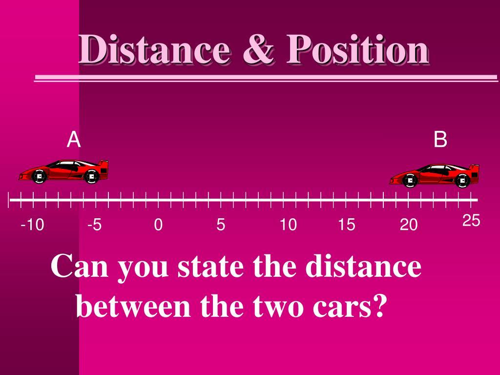 Distance & Position