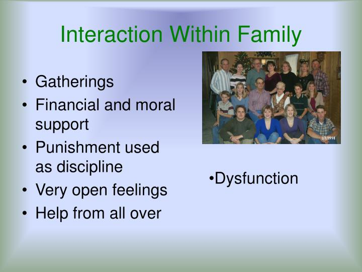 Interaction Within Family